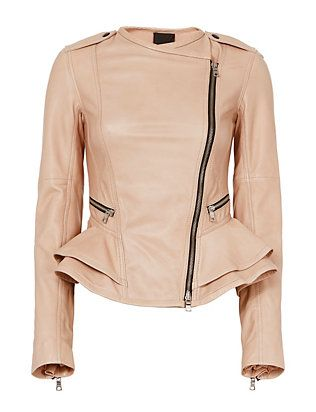 Marissa Webb Shane Leather Jacket