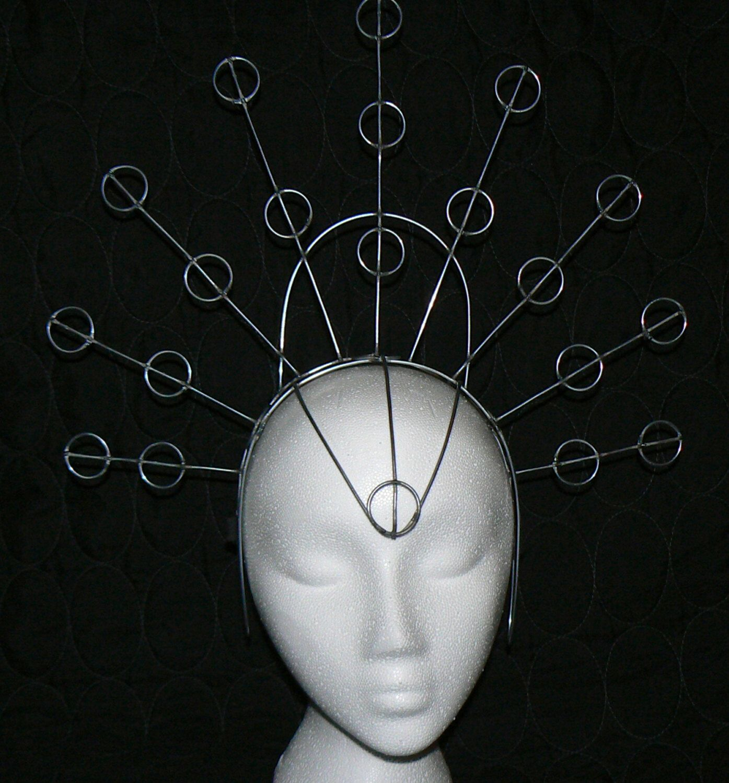 Samba Abyss Costume Headdress Wire Frame Design (with Adjustable ...