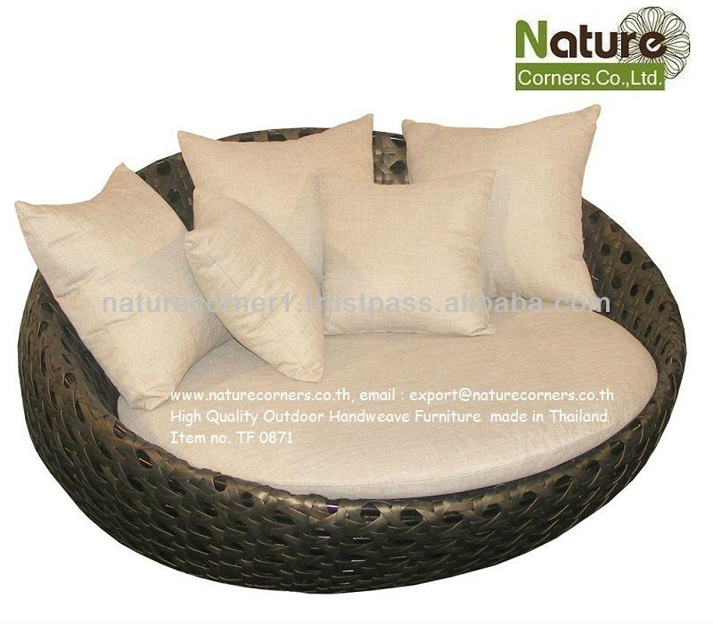 Outdoor Sofa Bed Round Lounge Chair 50 1000