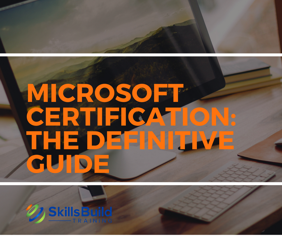 Microsoft Certification Training Courses It Certifications