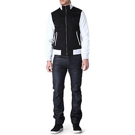 G STAR Baseball king bomber jacket (Black