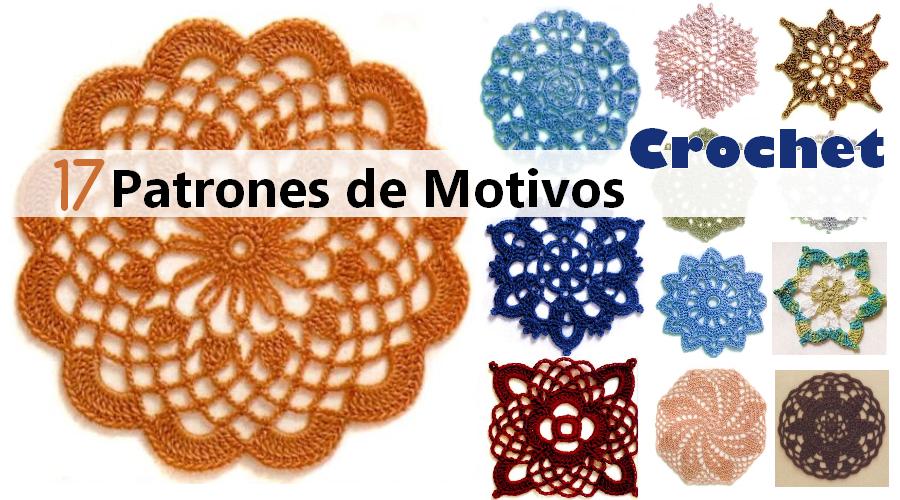 17 PATRONES DE MOTIVOS en CROCHET – Descarga gratis | Projects to ...