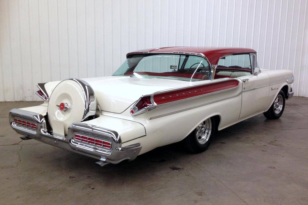 1957 Mercury Monterey 2 Door Hardtop With Continental Kit ...