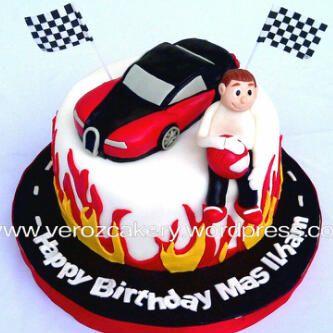 birthday cake with a bugatti Google Search Arisons 6th Birthday