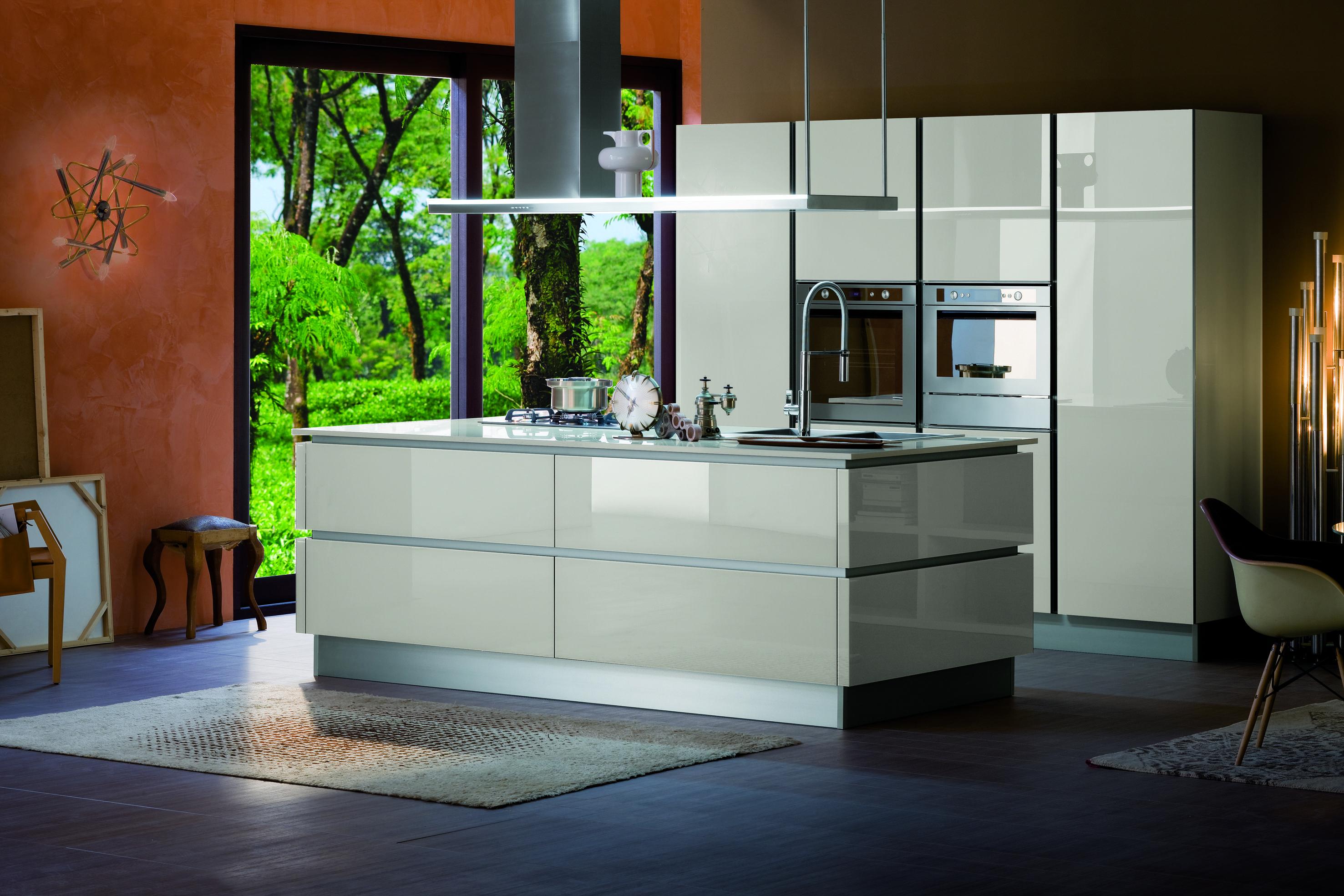 Veneta Cucine RI-FLEX Grigio corda | Kitchens | Pinterest | Island ...