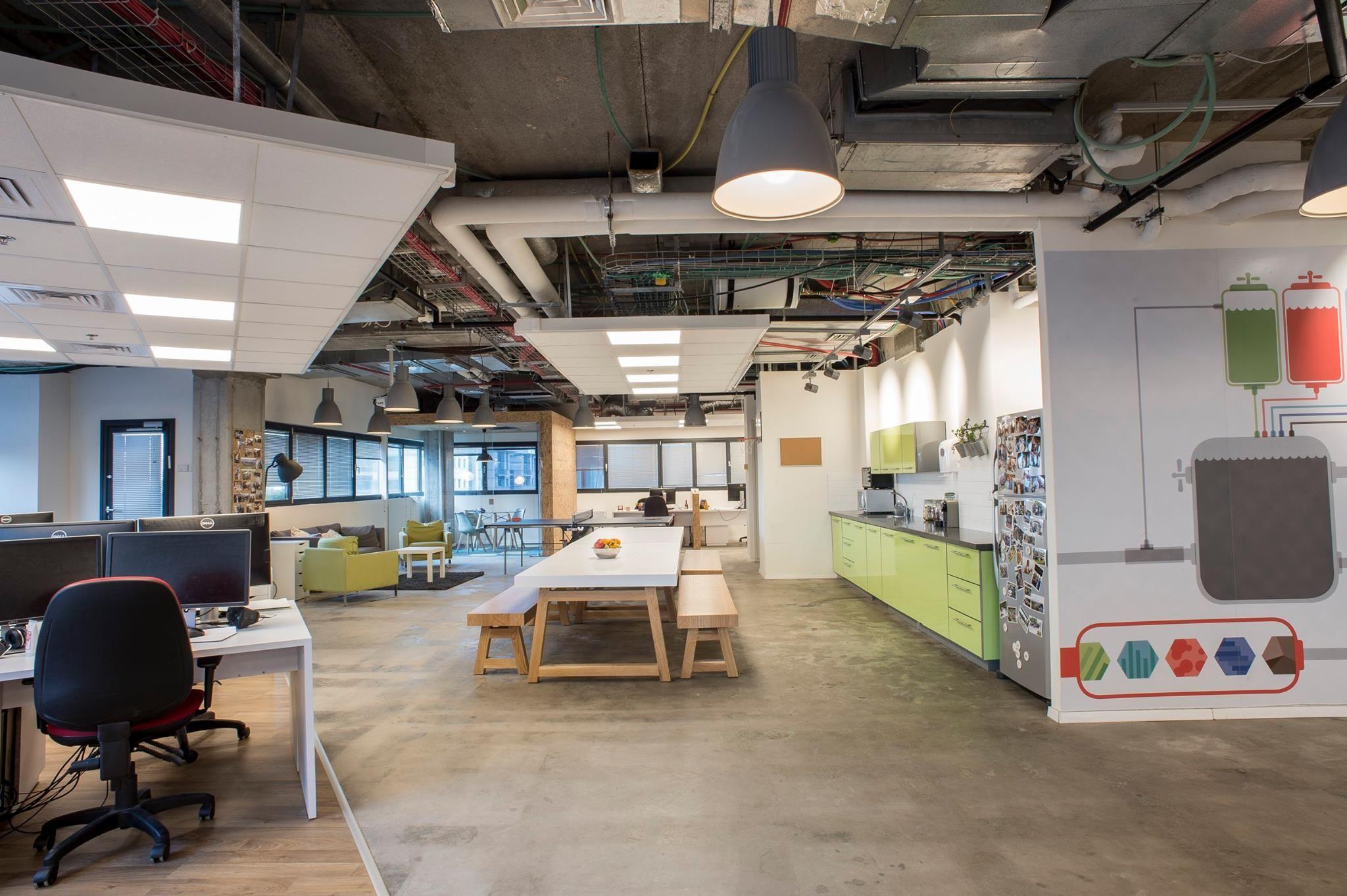 Creative office design Fortscale Offices at Tel avivIsrael open