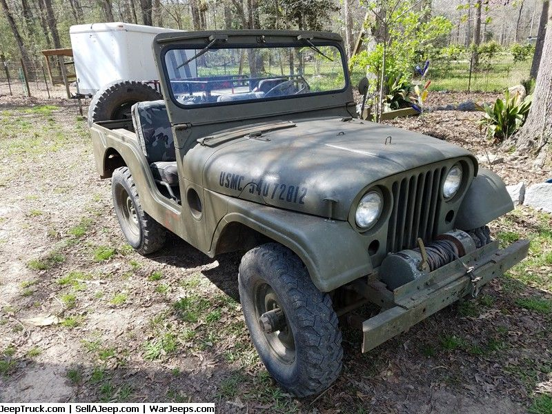 Military Jeeps For Sale and Military Jeep Parts For Sale - 54 Willys