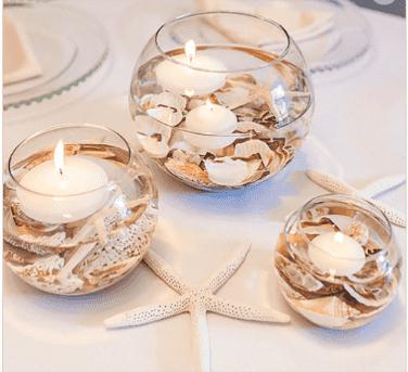 15 günstige Deko-Ideen für DIY-Hochzeitstafelaufsätze (die die Bank nicht spr #diyideas