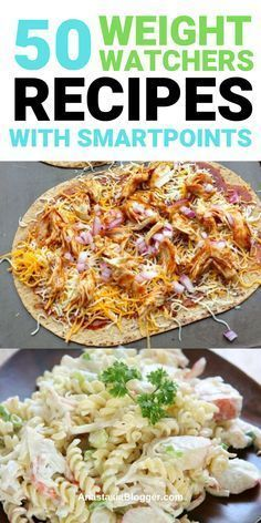 50 Weight Watchers Recipes with Smartpoints - Dinner, Chichen and Desserts