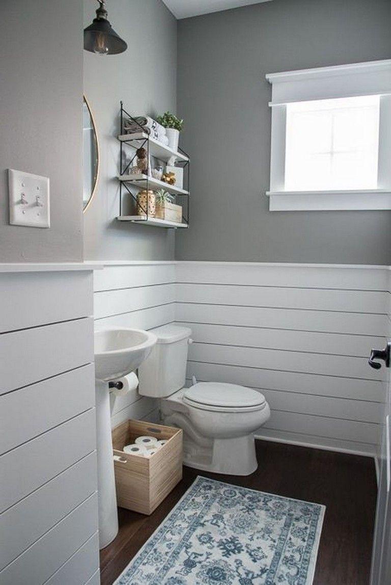 29 Fabulous Farmhouse Small Bathroom Decorating Ideas Small Bathroom Decor Bathrooms Remodel Bathroom Interior