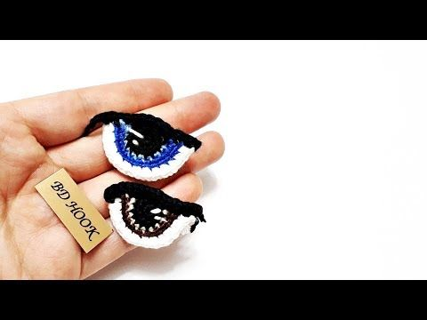 Amigurumi Göz Yapımı|HOW TO MAKE THE AMİGURUMİ EYES? - YouTube #amigurumi