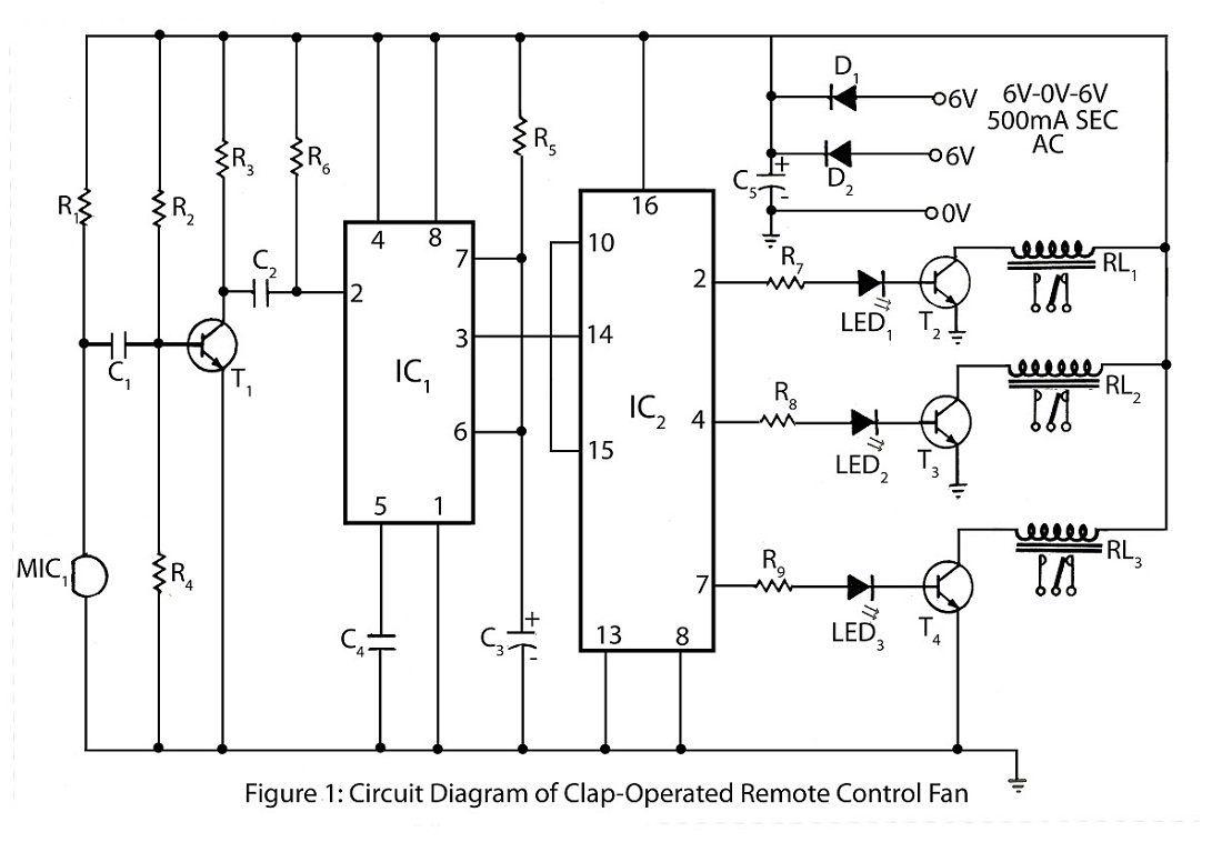 Remote Control Light Bulb Circuit Diagram   http://johncow.us ...
