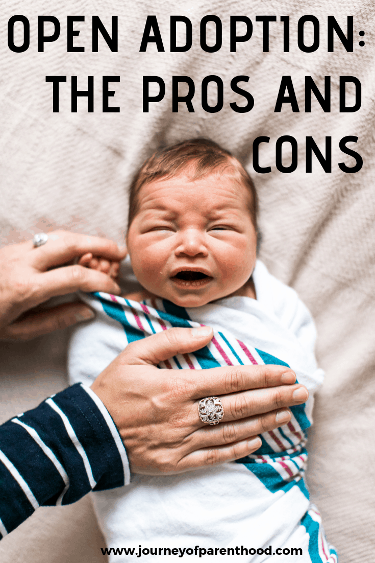 Open Adoption: Pros and Cons of Knowing the Birth Parents of Your Baby as an Adoptive Parent. When Adopting there are LOTS of decisions to make - how to decide how open to be with the birth mother is a big one. This post shows the real benefits as well as negative aspects of an open adoption. #adoption #adoptiontips #adopt #adoptionhelp #adoptionadvice #openadoption