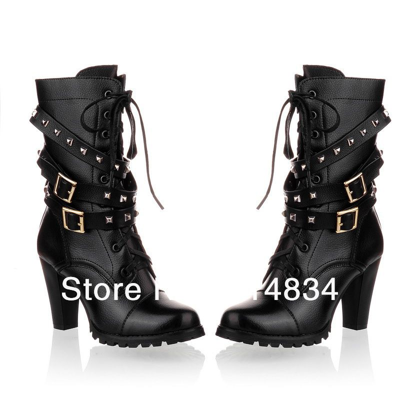 2012 winter sexy top quality genuine leather boots for women,warm ...