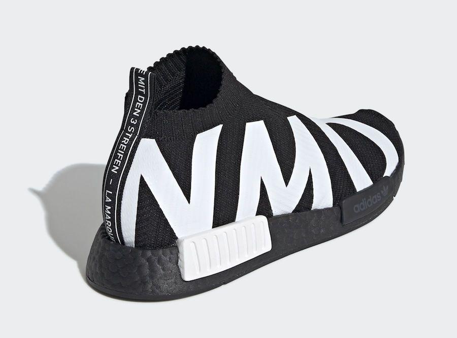 adidas NMD CS1 Primeknit Black EG7539
