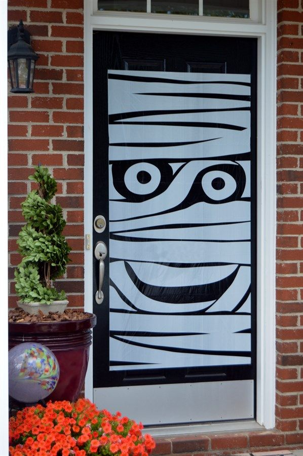 Halloween Door Covers Halloween Door Halloween Halloween Decorations