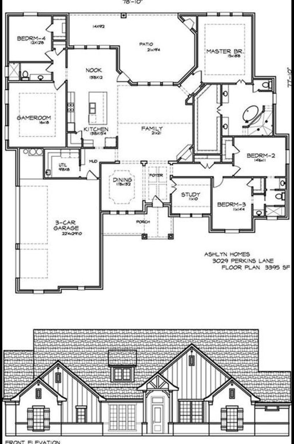 Combine Bedroom 4 Gameroom To Make A Mother In Law Suite In Law Suite House Plans Game Room