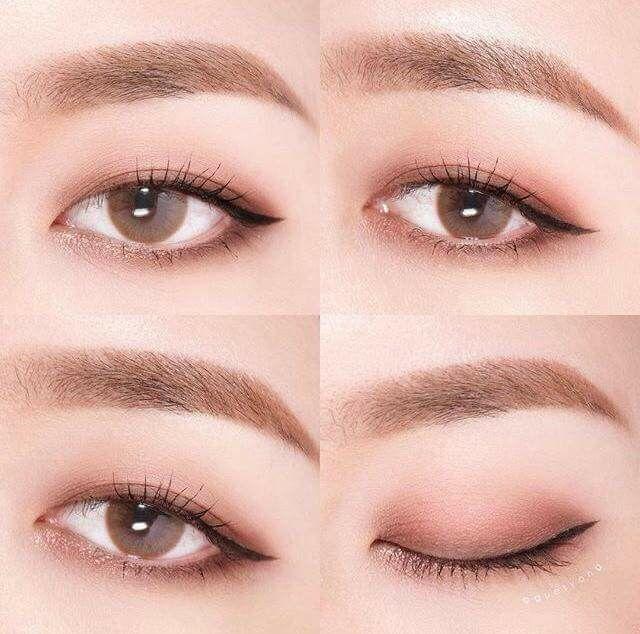 Tutorial Asian Makeup Asian Eye Makeup Korean Eye Makeup