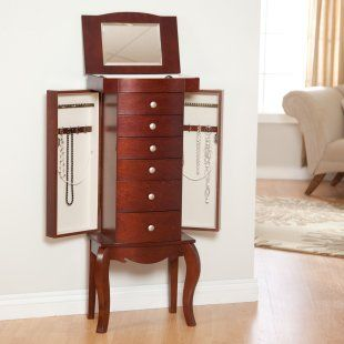 jewelry armoire, a great gift idea!