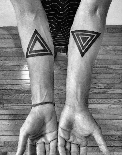 Geometric Tattoos 70