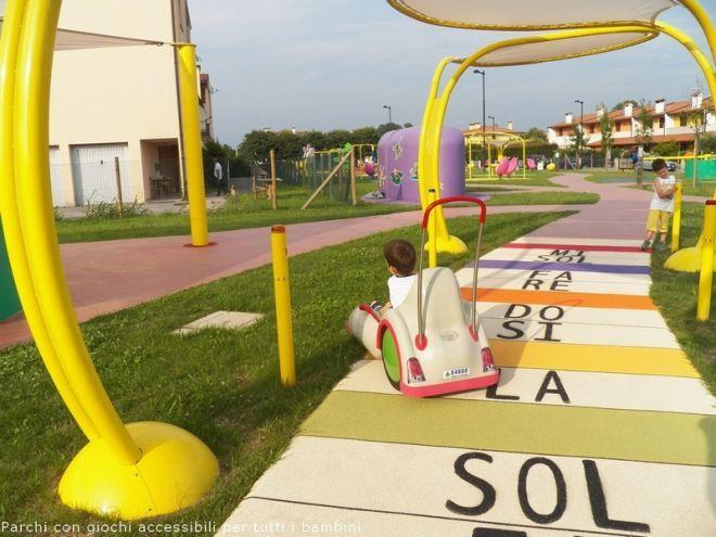 Tunnel Bambini ~ L altalena per bambini disabili firenze parchi giochi per i