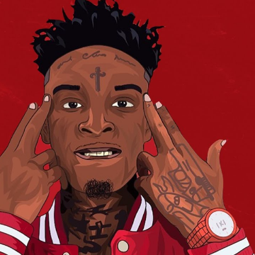 image result for 21 savage cartoon bhezo in 2018 pinterest