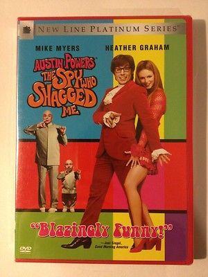 Austin Powers Spy Who Shagged Me New Dvd Mike Meyers Heather Graham