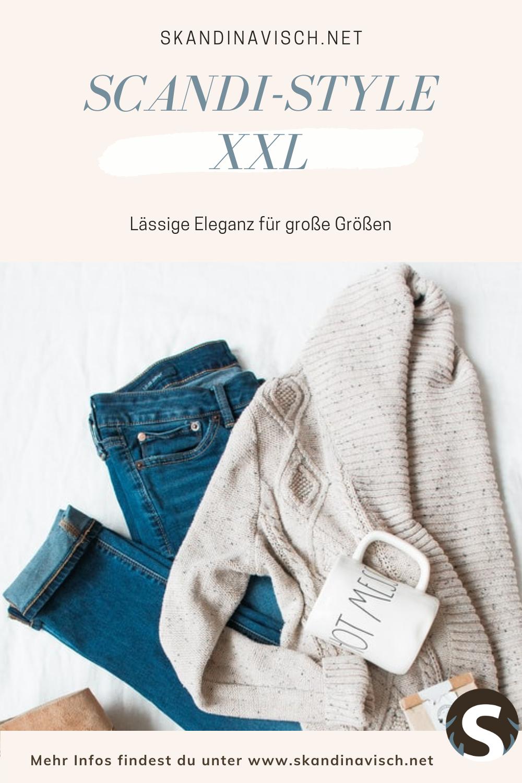Skandinavische mode für große größen