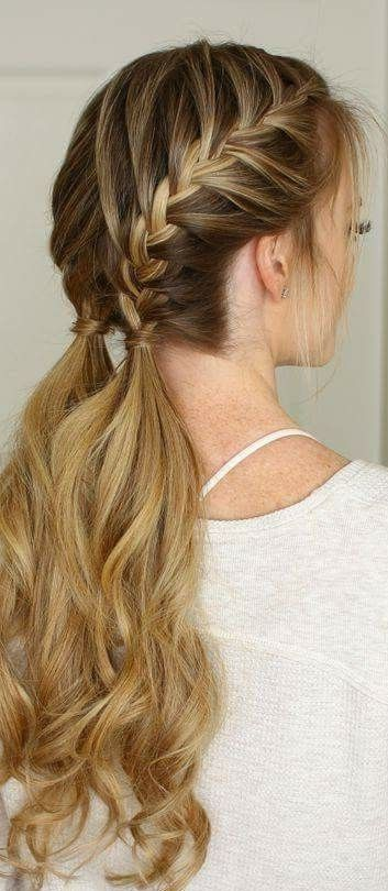 30 French Braids Hairstyles Step By Step How To French Braid Your Own French Braids Hairstyles Step Braids For Short Hair Hair Styles French Braid Hairstyles