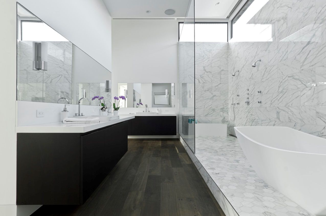 Bathe- tub and shower | Tubs, Shower enclosure and Freestanding tub