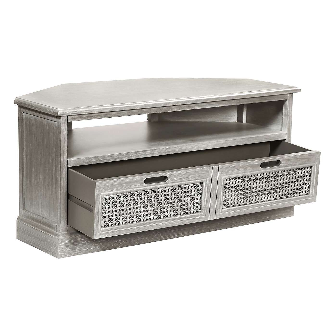 more photos c30f2 6b317 Lucy Cane Grey Corner TV Stand | Living Room Ideas in 2019 ...