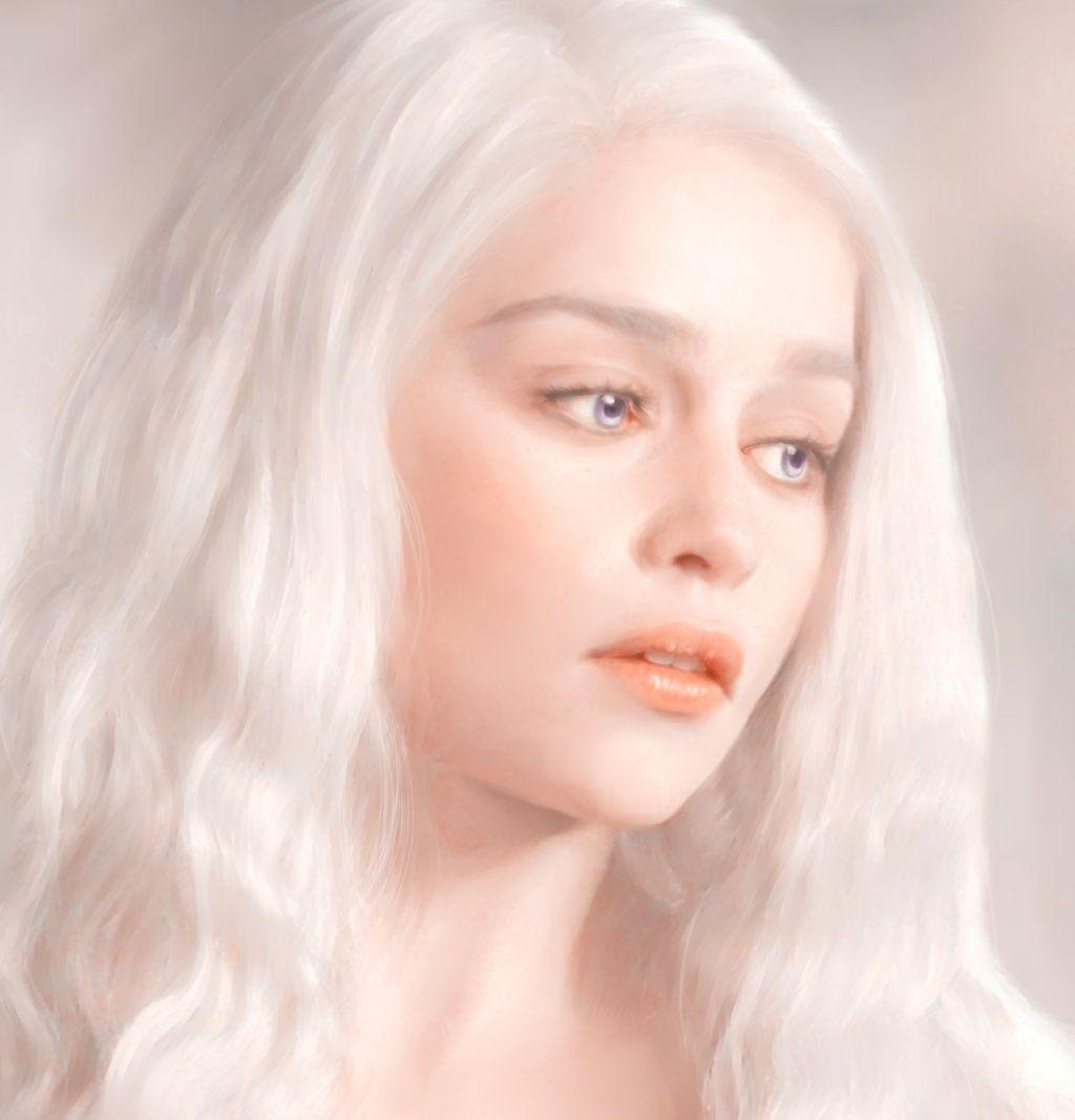 Daenerys Targaryen by raineytwain
