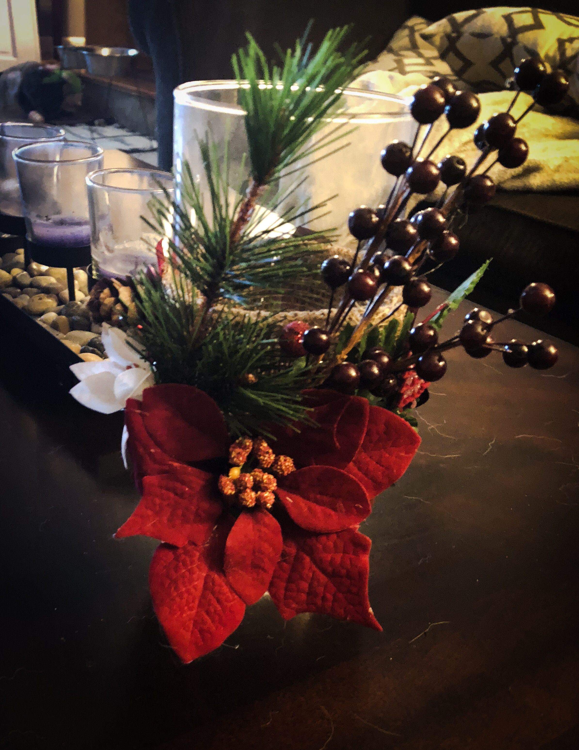 Pin by Ashley Bacon on DIY   Mason jar candle holders, Christmas wreaths, Holiday decor