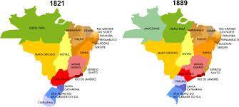 Como aspecto histórico, aqui mostramos como eram as Bandeiras das Províncias da época do Brasil Império, para melhor entendimento, a geografia do Brasil.