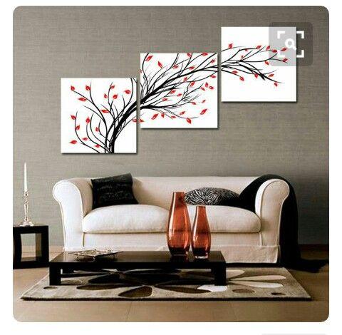 pin de katherine posada ramirez en hogar cuadros decorativos para sala decoraci n de unas y. Black Bedroom Furniture Sets. Home Design Ideas