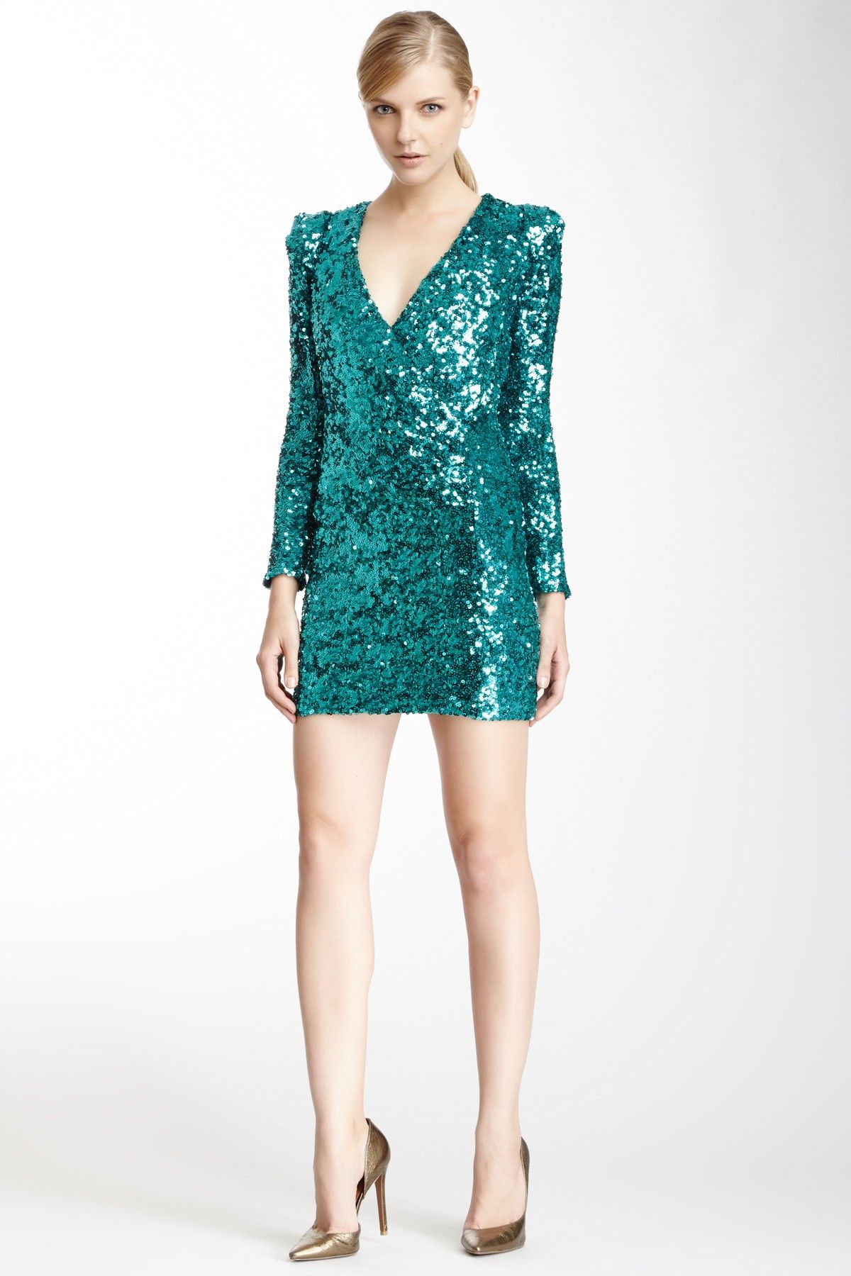 New Years party dress | DRESSES | Pinterest | Sequins, Turquoise and ...
