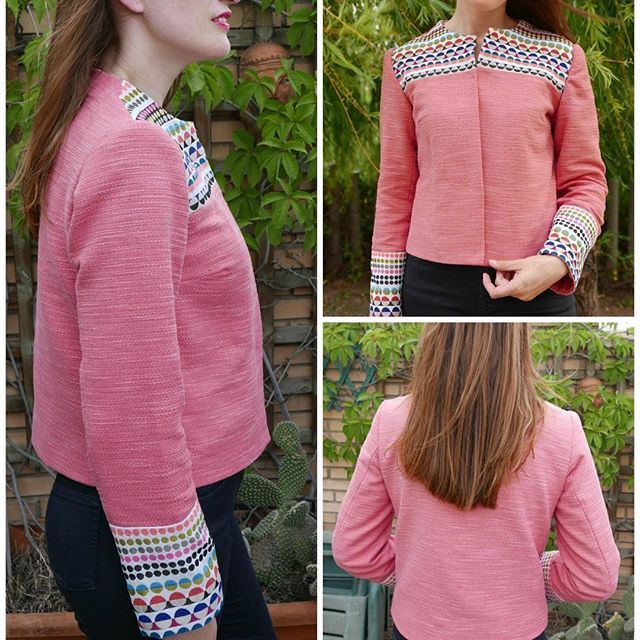 On the blog available a post about this jacket I made few days ago, including an…