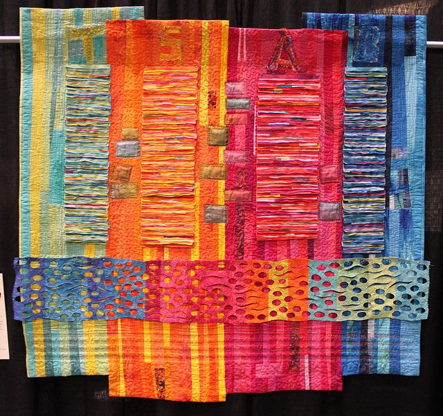 Pacific International Quilt Festival Favorites 2012 Cuadro - tapices modernos