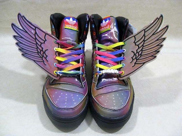 adidas wings rainbow