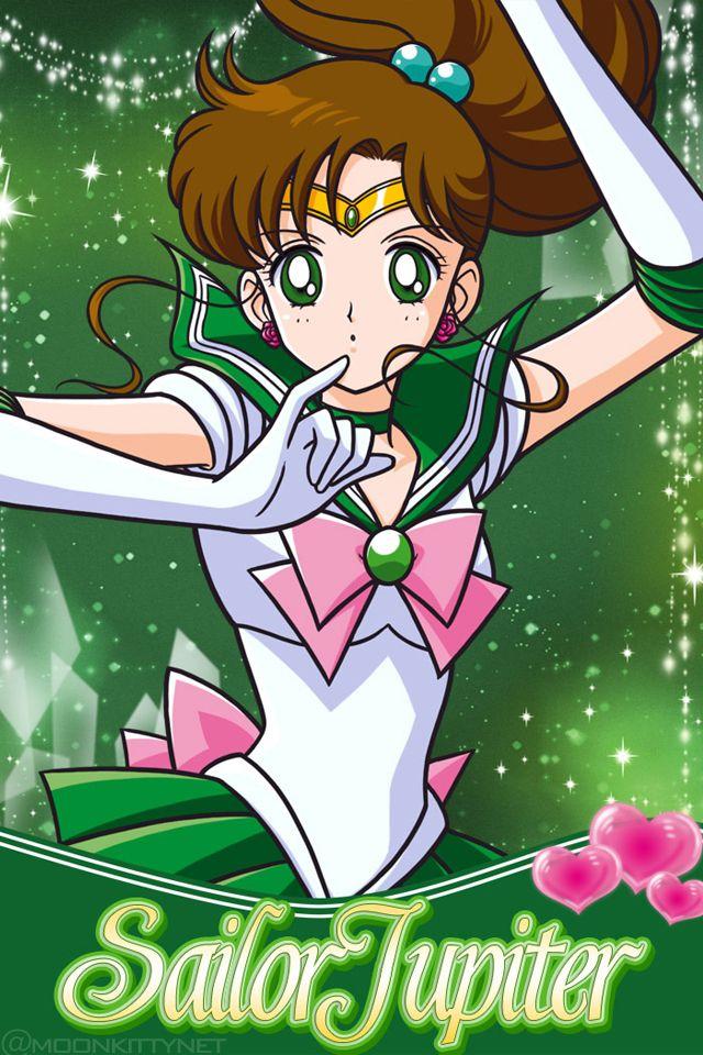 Sailor Moon Mobile Cellphone Wallpapers Page 6 Sailor Jupiter Sailor Pretty Guardian Sailor Moon