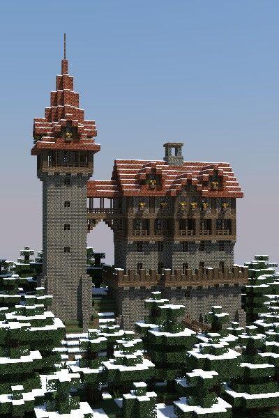 Medieval Minecraft castle #victorian Medieval Minecraft castle #minecrafthouses