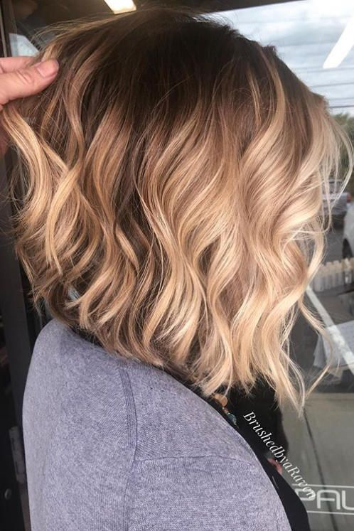 Angled Lob Haircuts That Prove Blunt Isn't Always
