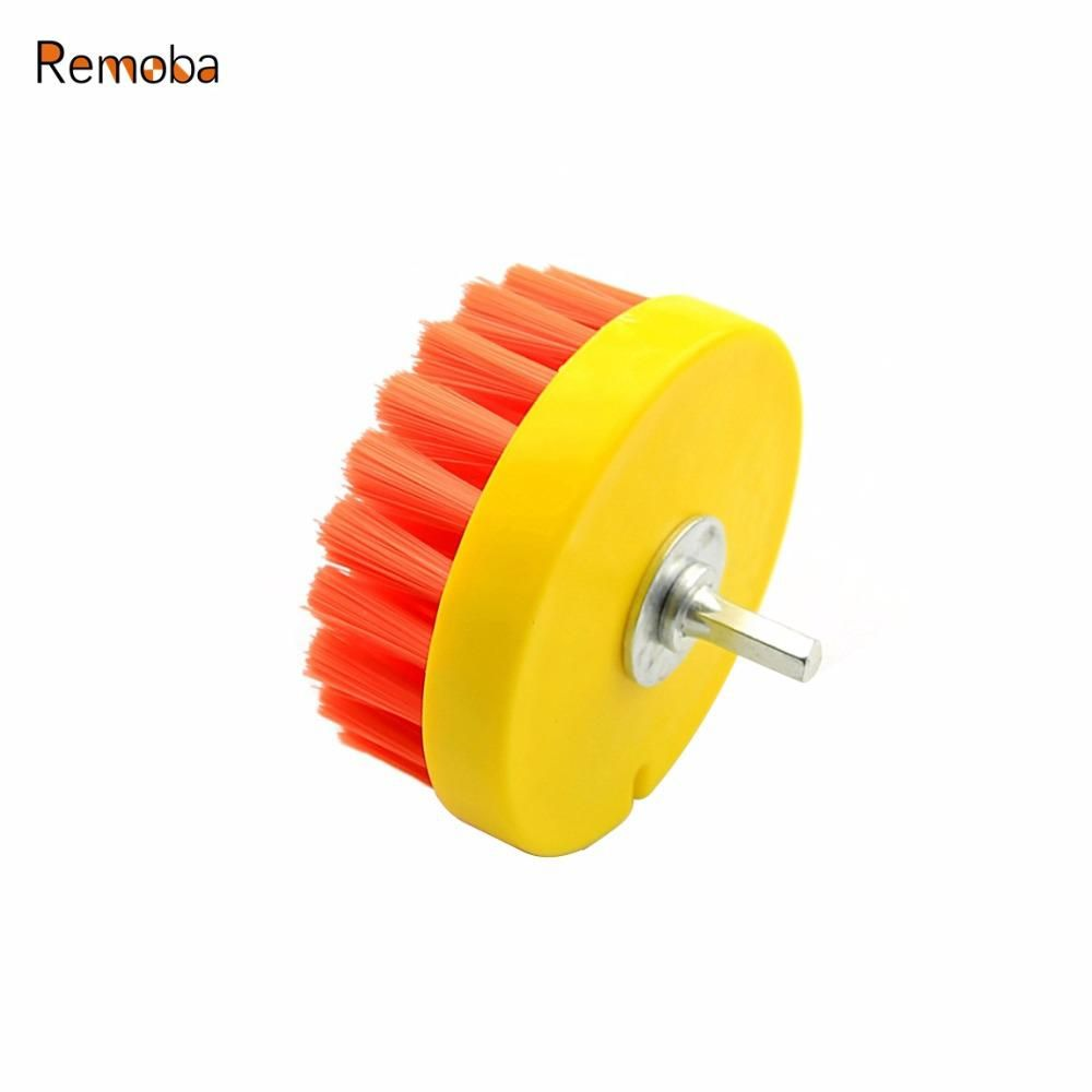 Dia 110mm Power Scrub Drill Brush For Cleaning Stone Mable
