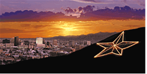 El Paso With The Star On The Mountain Google Images El Paso El Paso Texas Favorite Places