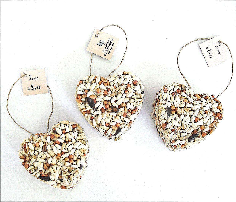 200 Wedding Bird Seed Love Bird Ornament - rustic, vintage, boho ...