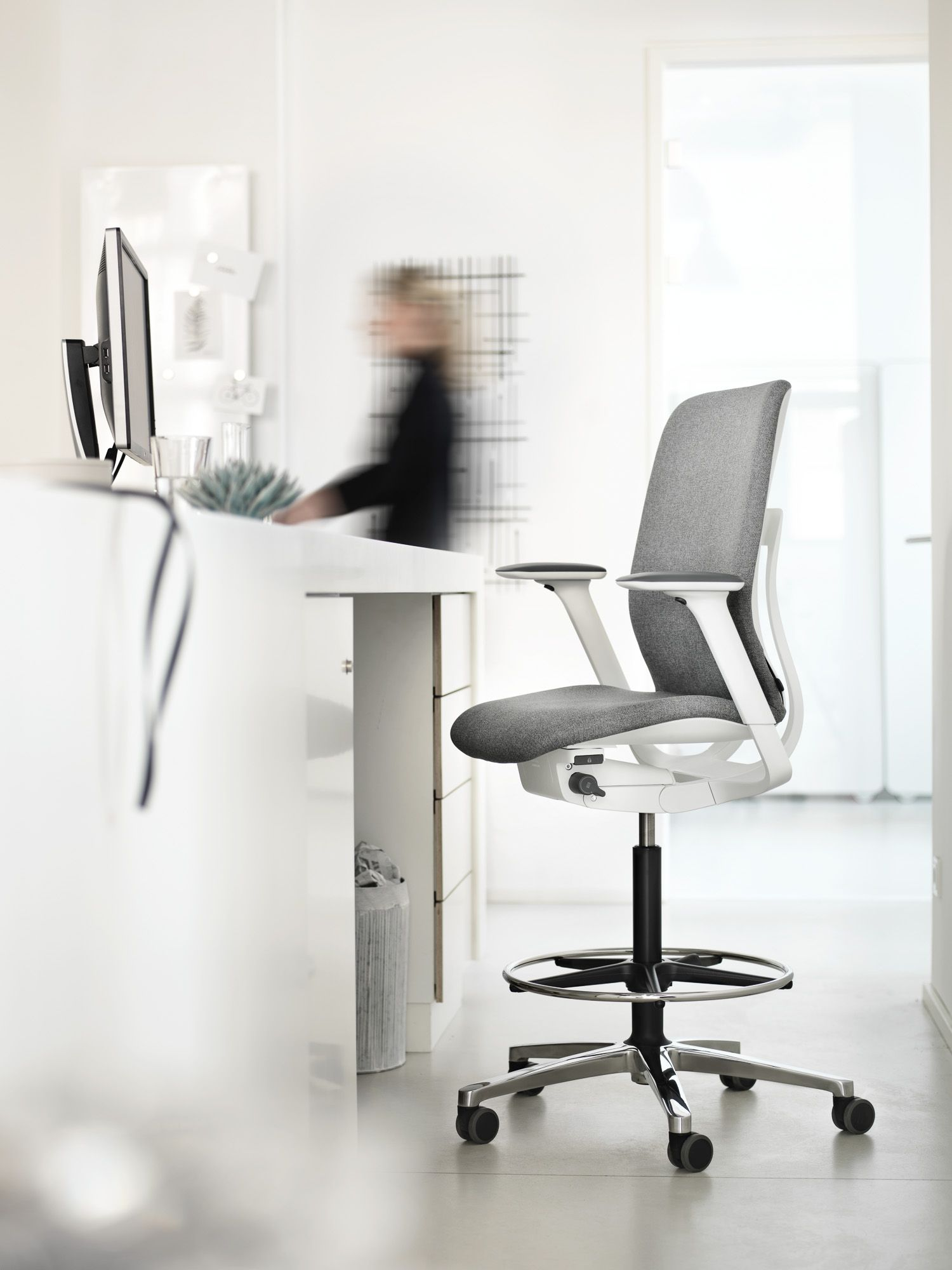 In addition to office chair models with normal height