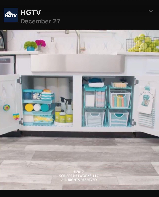 pin by gina murphy on kitchen kitchen cabinet storage solutions under kitchen sink on kitchen organization tiktok id=58055