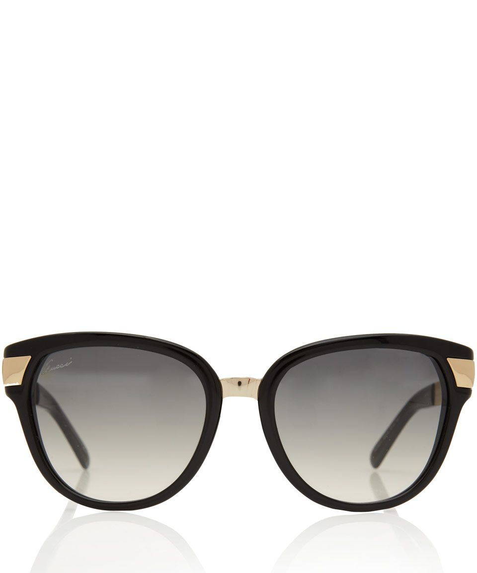 90919d9ee0 Gucci Black and Gold Sunglasses