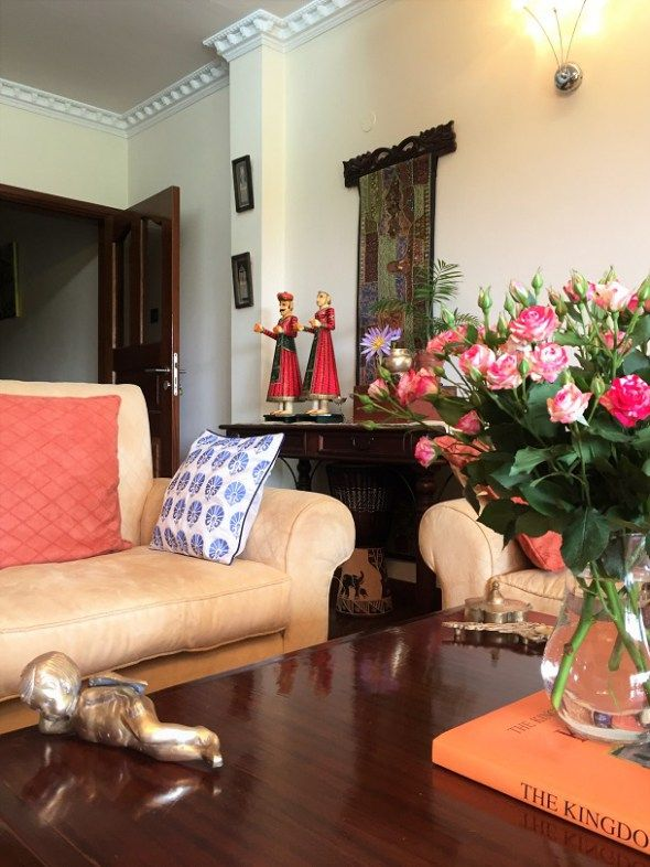 An Indian Design Decor Blog Home Tour Chitra Seetharaman: A Delightful Mix Of The Modern And Traditional. Home Tour: Hemal Paliwal's Lotus-themed Home In