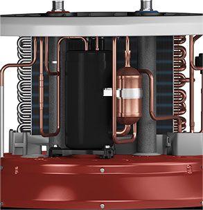 Geospring Hybrid Electric Heat Pump Hot Water Heater Heat Pump Water Heater Electric Heat Pump Water Heater